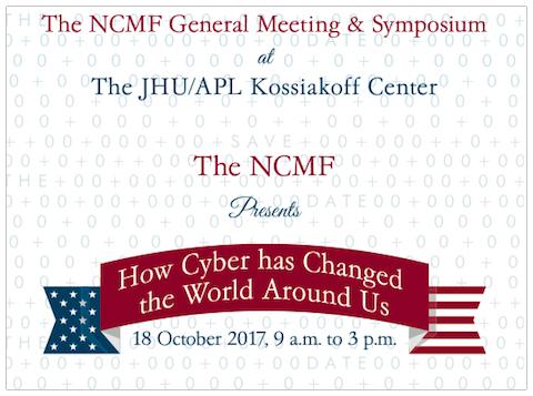 NCMF 2017 Membership Meeting & Annual Symposium