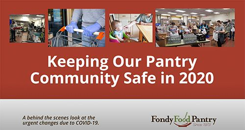 Keeping Fondy Food Pantry Community Safe in 2020