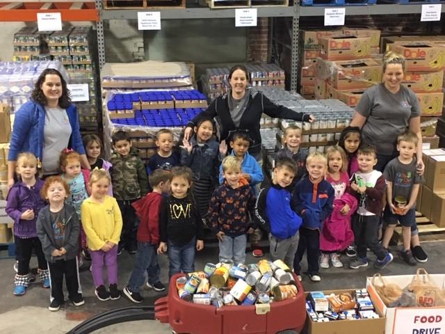 #TackleHunger Food drive a success!!