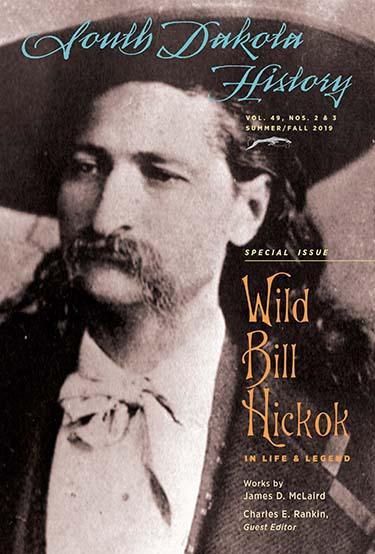 "Wild Bill Hickok featured in ""South Dakota History"""