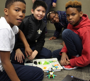 Tech the Halls - It's never too early to discover a passion for programming