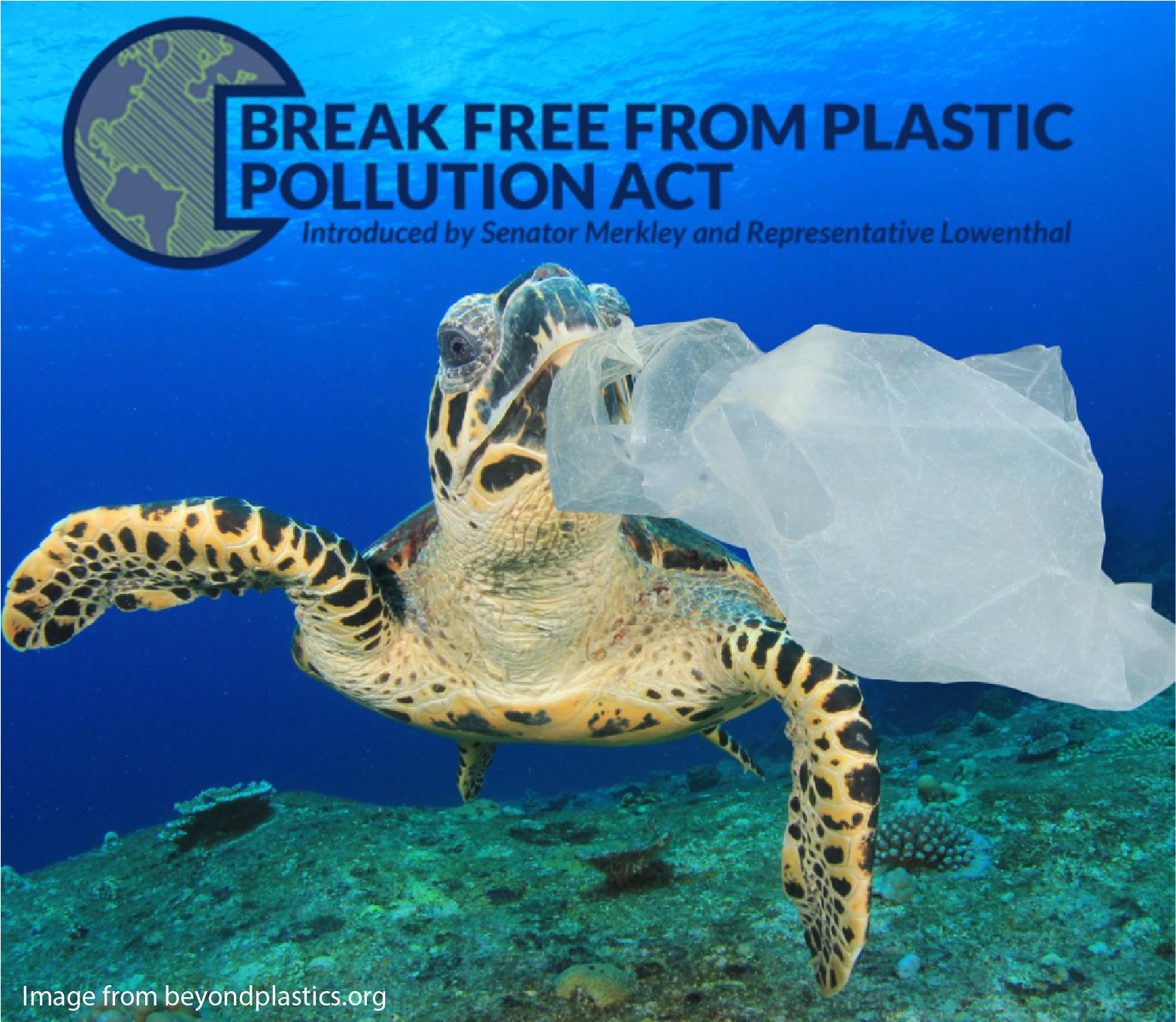 Help Support the Break Free From Plastic Pollution Act of 2021