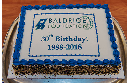 Baldrige Foundation Celebrates 30th Anniversary of Its Founding