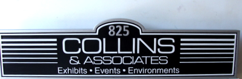 SA28425 - Carved Door Sign for Events & Exhibits Company