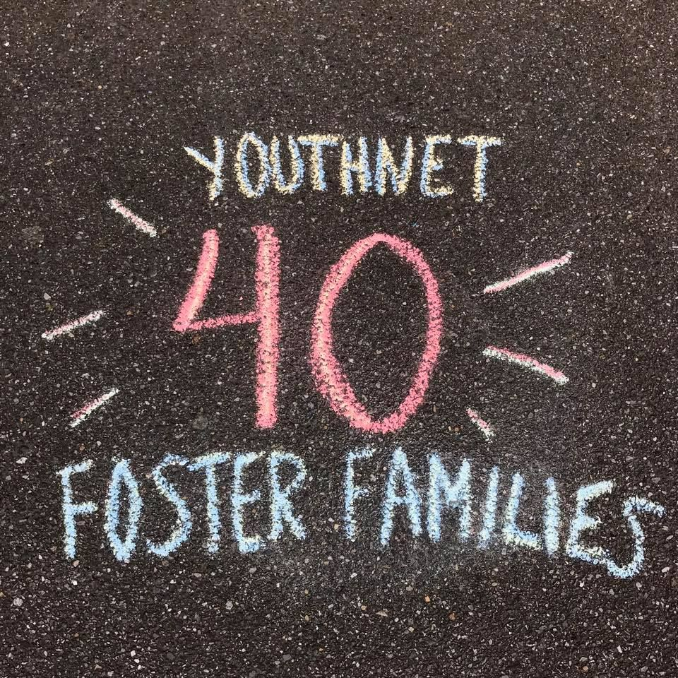 Youthnet Celebrates 40 Foster Families