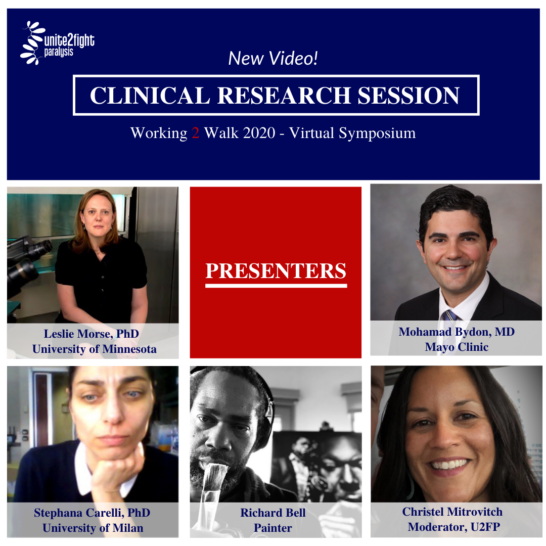 Clinical Research Video now available - Working 2 Walk 2020