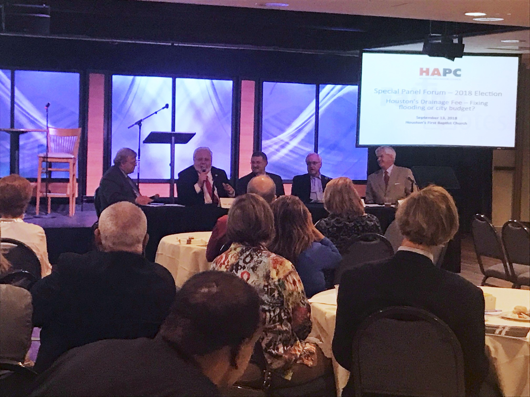 "HAPC Luncheon Panel Raises Serious Questions about ""Drainage Fee 2.0"""