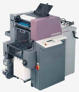 "Three Heidelberg Quick Master Two Color 46-2 with infrared drying systems 13 3/8"" X 18 1/8"""