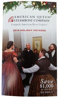 2016 American Queen Holidays Brochure