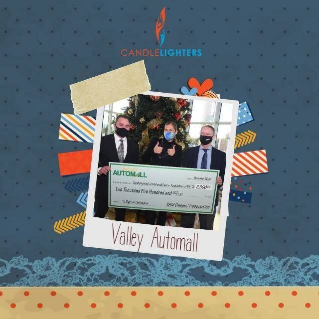 Valley Automall dealers donate to nonprofits