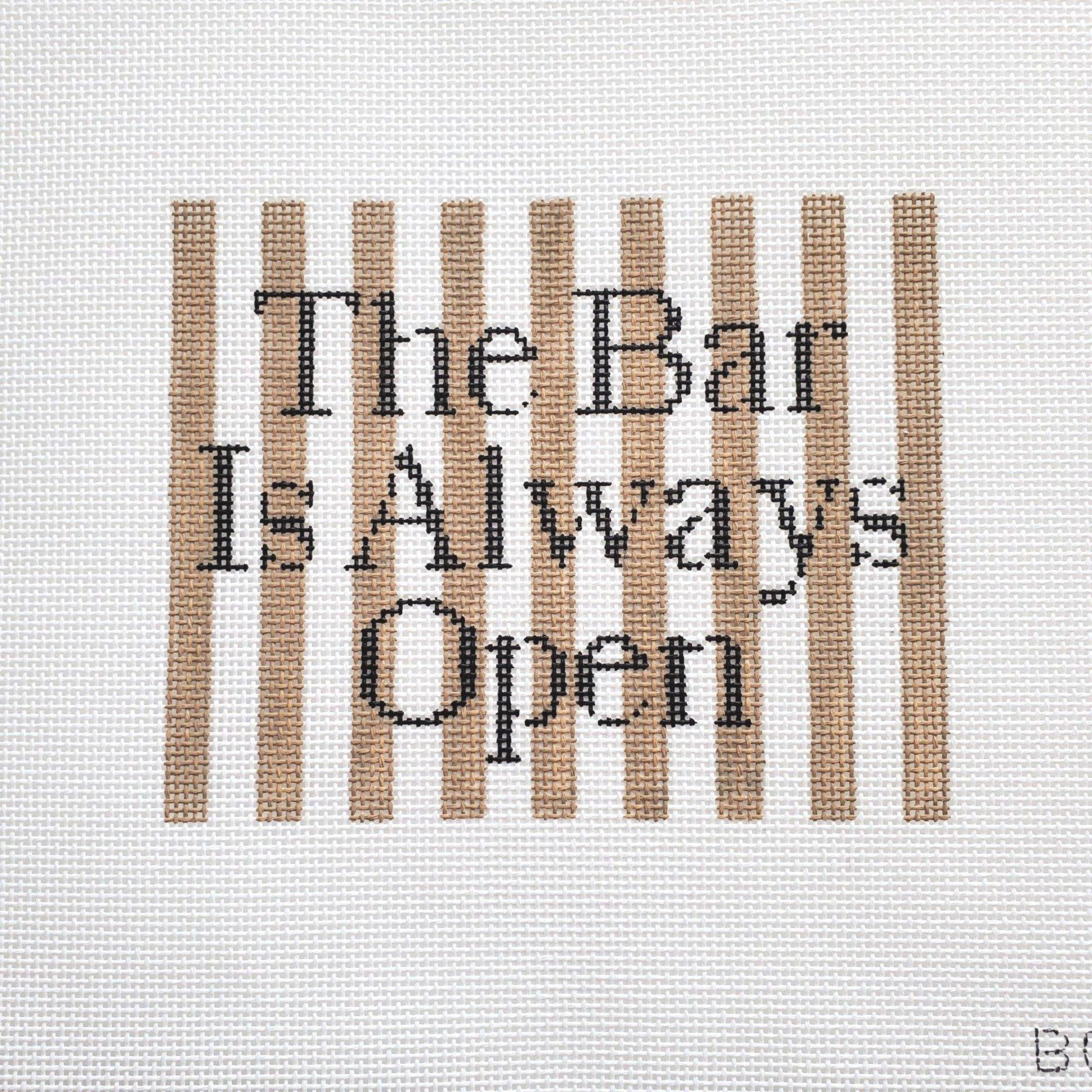 The Bar Is Always Open