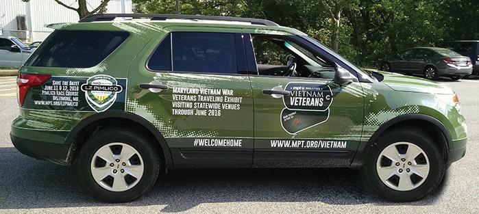 Vehicle Wraps General Envelope Owings Mills Md