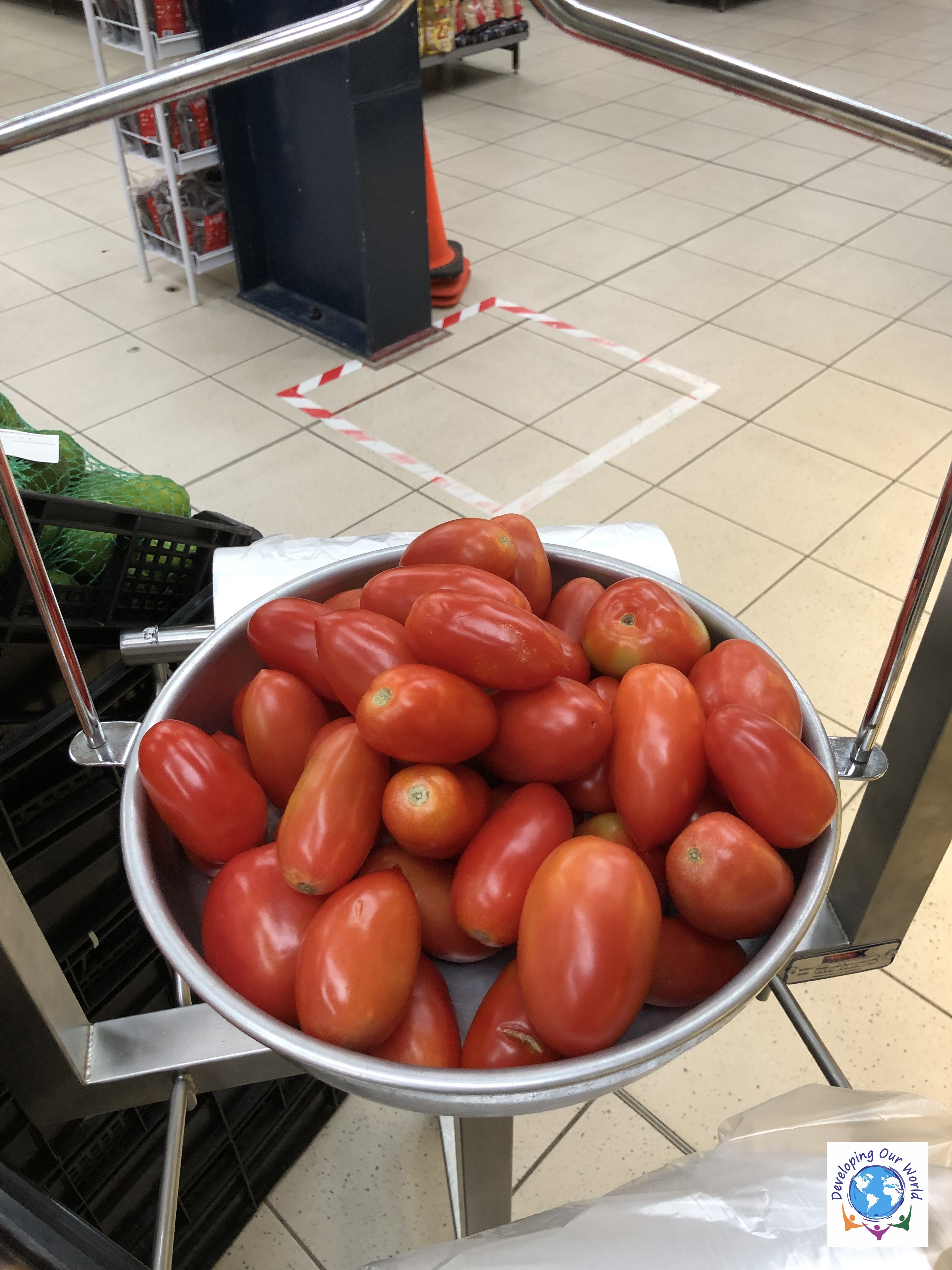 7 lbs of tomatoes