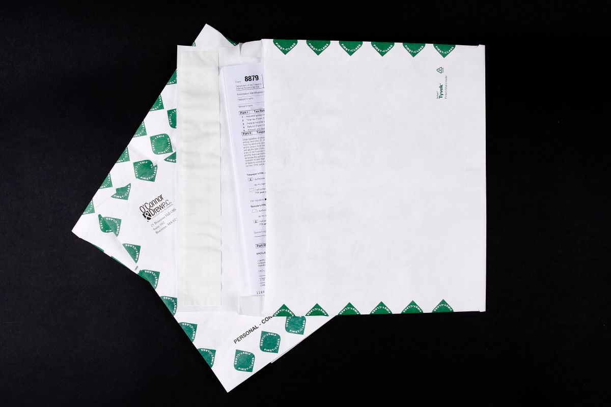 Print Tyvek Envelopes - and recycle them too