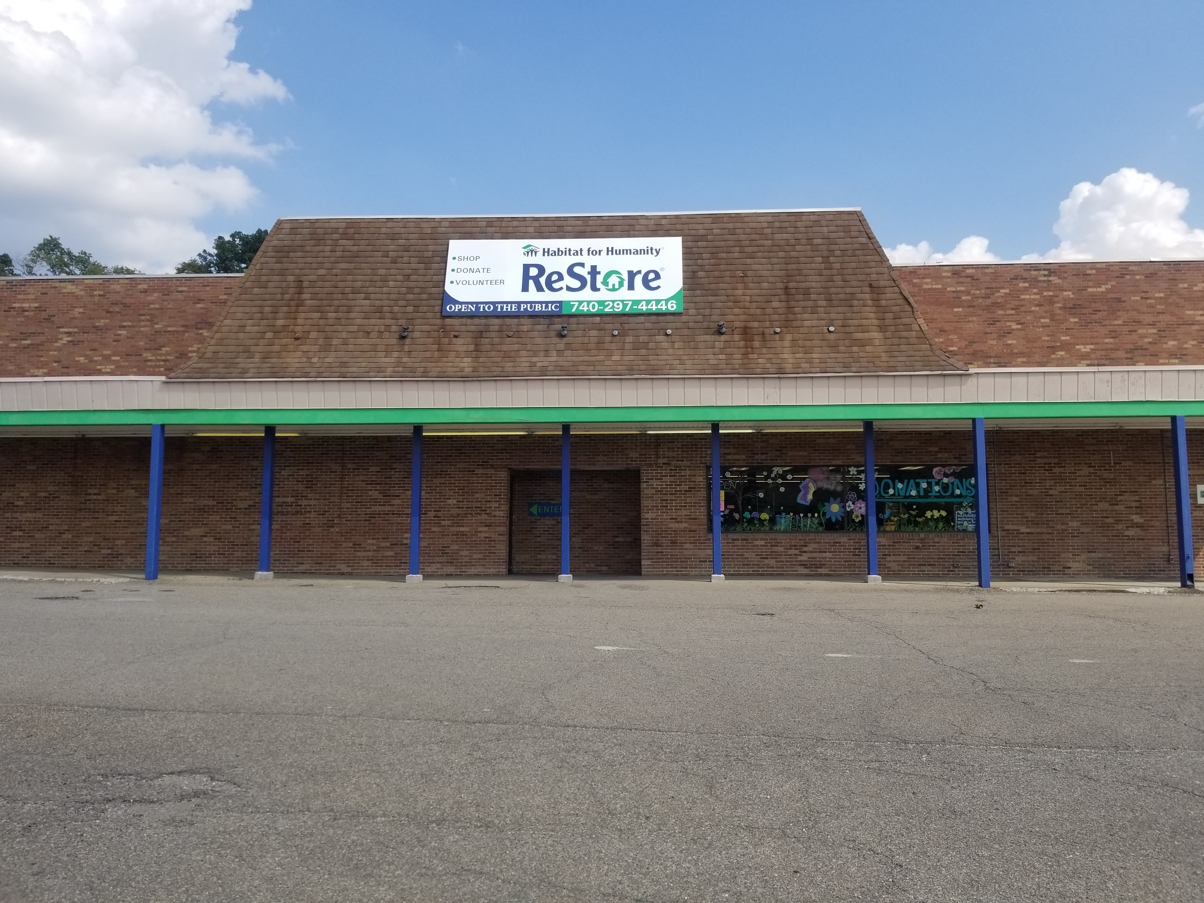 Zanesville Restore Accepted items