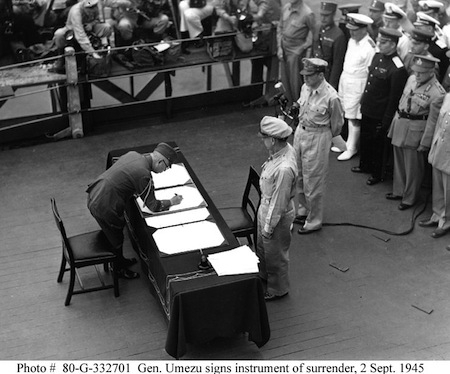 1945: Japanese Surrender Event