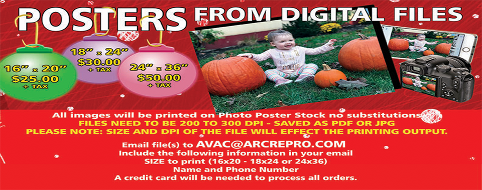 posters from digital photos