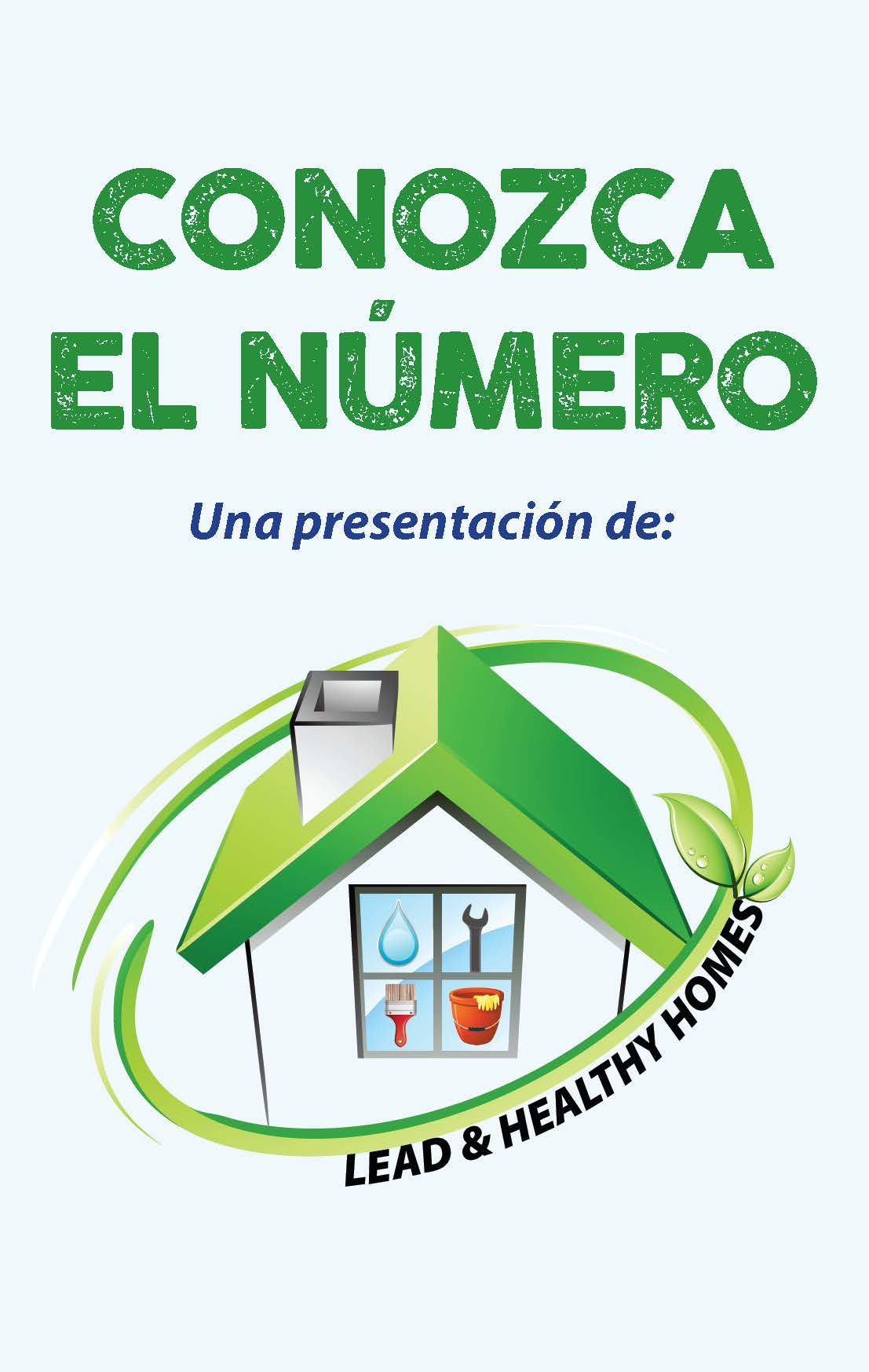 Know The Number - Blood Lead Level Card (Spanish)