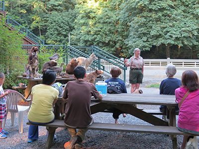 Local Residents Came to Learn About Urban Coyotes August 6th
