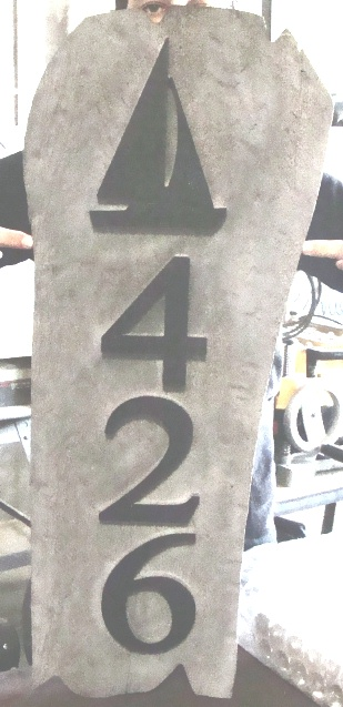 """L21982 - Redwood """"Driftwood"""" Sign"""