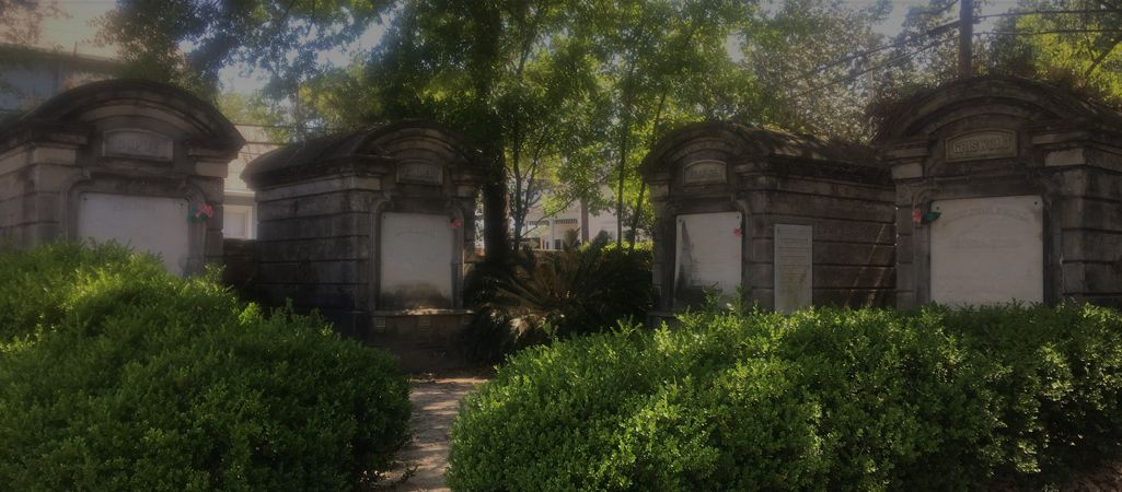 Lafayette Cemetery CLOSED for repair