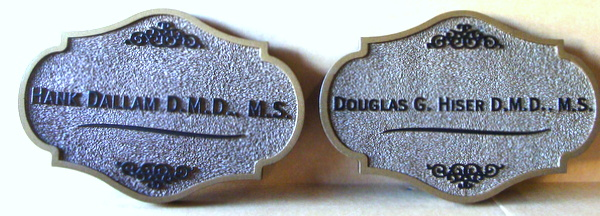 BA11578 - Sandblasted HDU Doctor of Dental Medicine Wall Plaques
