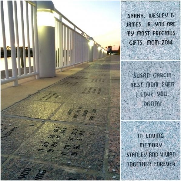 PERSONALIZED PAVER walkway