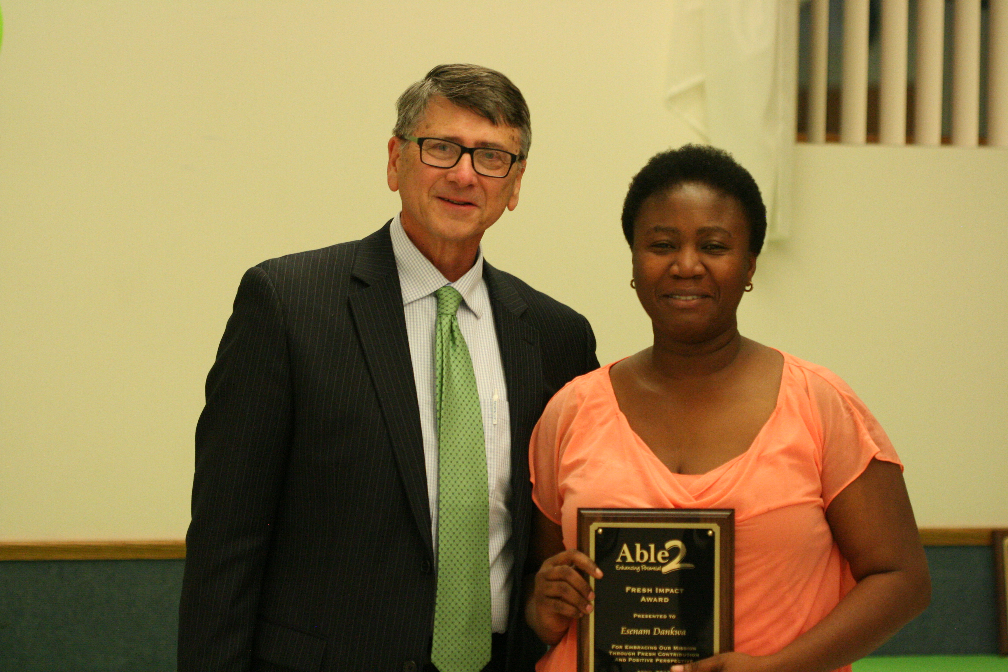 Esenam Dankwa, Fresh Impact Award Recipient