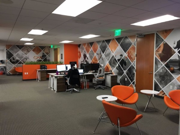 office orange. Office Wall Murals Office Orange