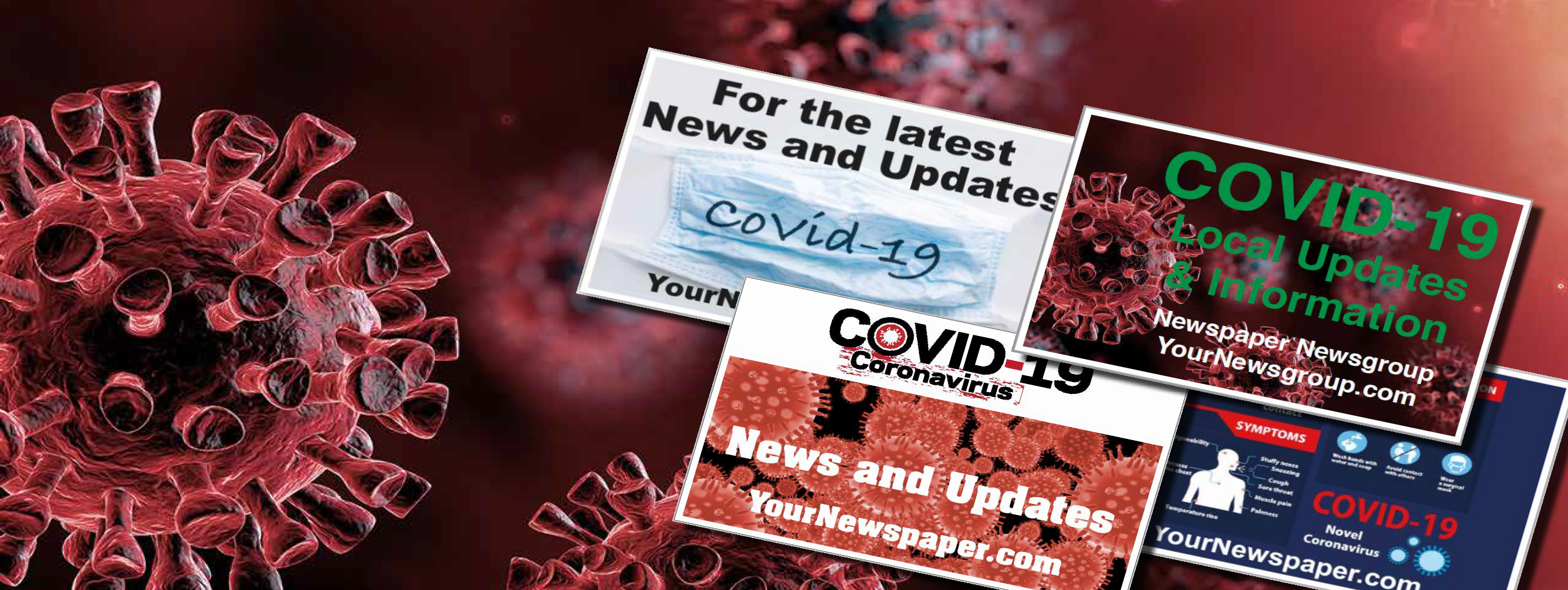 *NEW*. COVID 19 Rack Cards