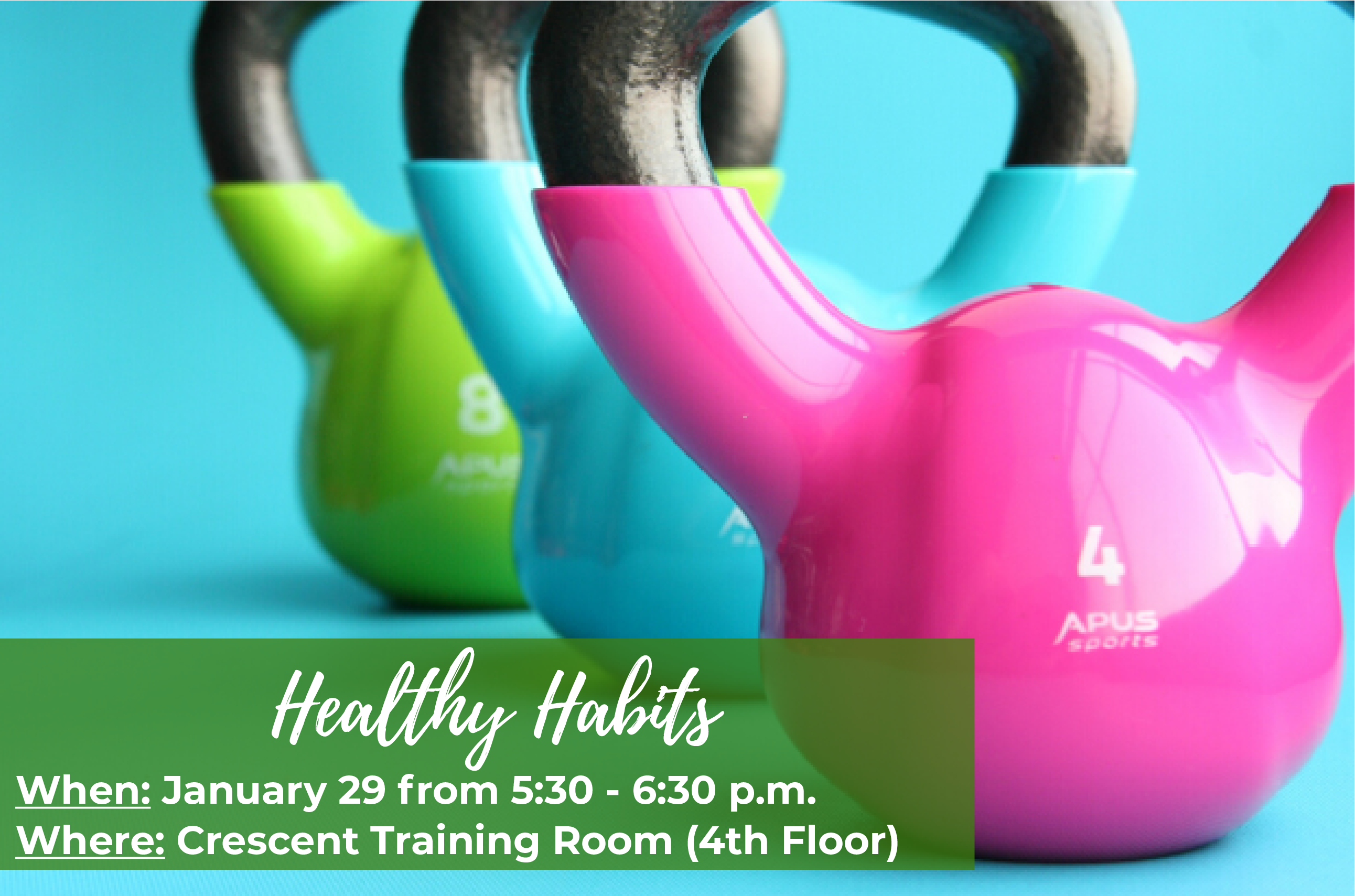 Attend our Healthy Habits session!