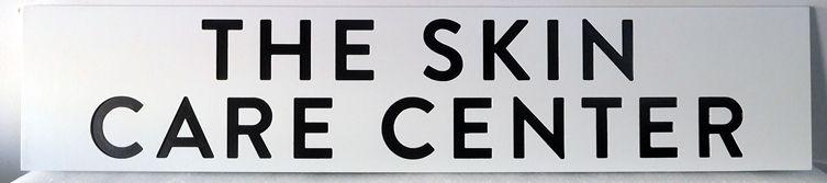 B11077 - Highly Legible HDU Sign for Skin Care Center