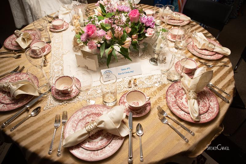 """""""Vintage Rose"""" Sponsored by Ken & Cindy Hejl"""
