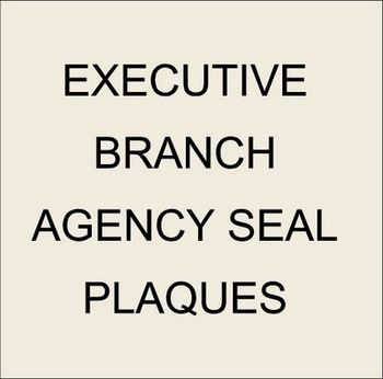 8. U30302 - US Government Agency & Bureau Custom Carved 3-D Wooden Wall Plaques
