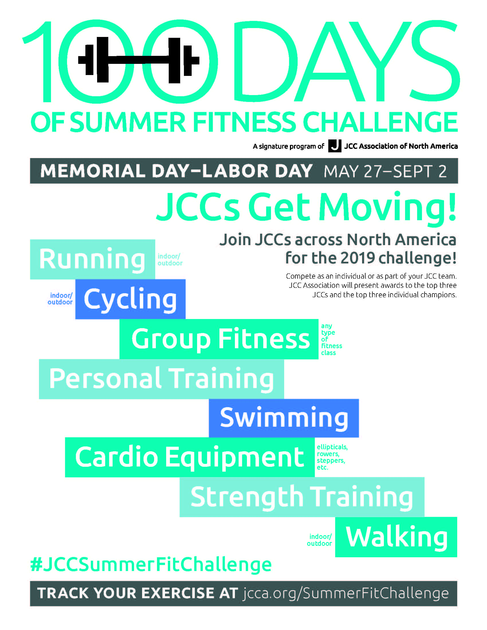 100 Days of Summer Fitness Challenge