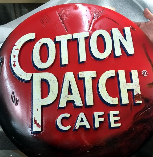 M2116 -  Sign for the Cotton Patch Cafe (Gallery 25)