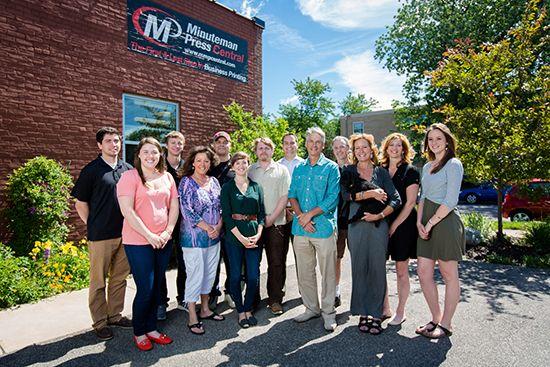 Minuteman Press Central Team