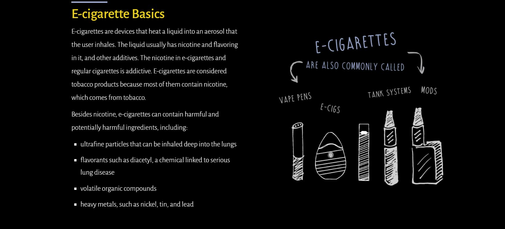 Vaping - Know The Risks
