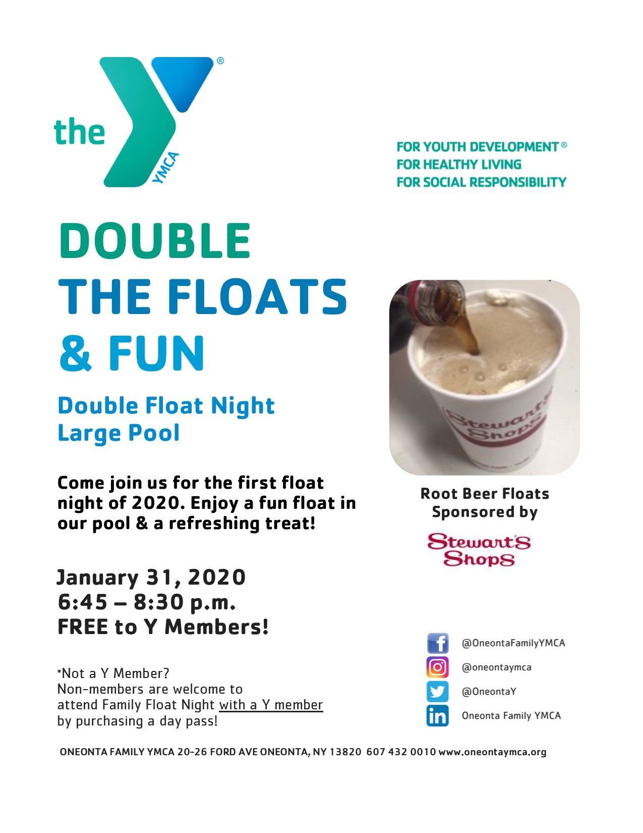 January Double Float Night