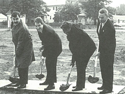 15 Years Ago in October CEDARS broke ground for the Northbridge Community Center