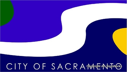 X33145 - Seal/ Flag of the City of Sacramento