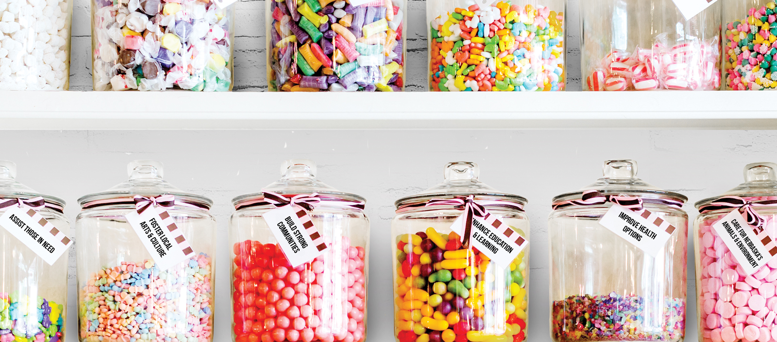Like a Kid in a Candy Shop, You've Got Choices!