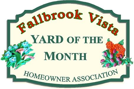 KA20902 - Yard of the Month Sign with 3-D Carved Flowers (Roses and Lillies)