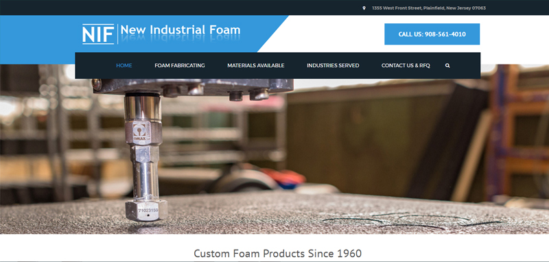 Industrial Foam: Web Development