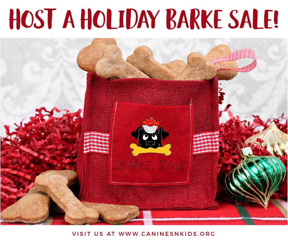 Host a Holiday BARKE SALE!