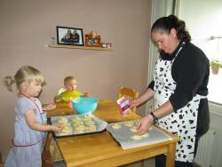 Making Finnish Bread