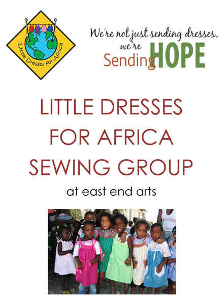 Little Dresses for Africa Sewing Group