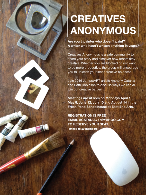Creatives Anonymous Meeting