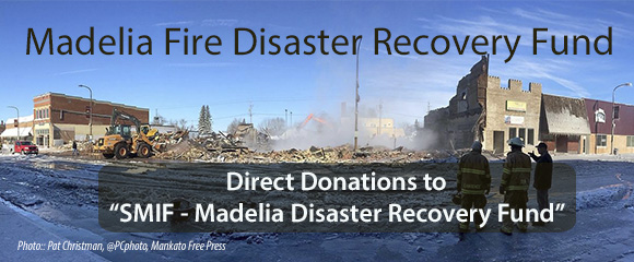 SMIF Disaster Recovery Fund raises over $200,000 for Madelia fire relief
