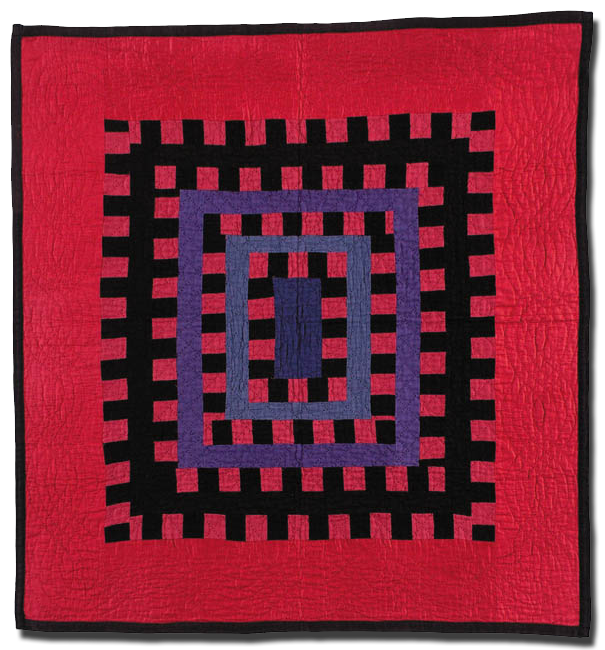 One Patch variation, Maker unknown, Possibly made in Holmes County, Ohio, United States, Circa 1920-1940, 32 x 30 in, IQSC 2000.007.0066